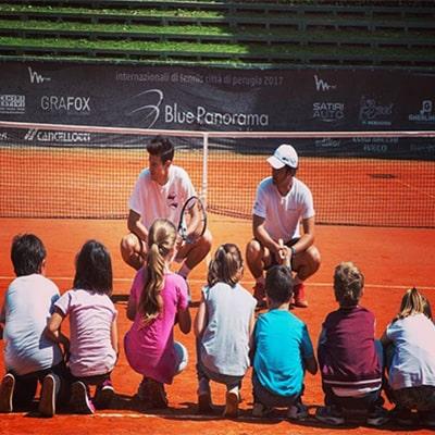 corsi di tennis allievi